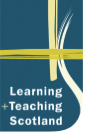 Learning and Teaching Scotland logo